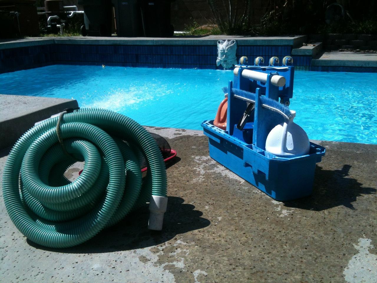 čištění bazénu2